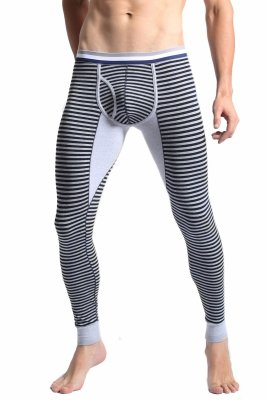 Long Johns BODY GMW Dark Grey Stripes