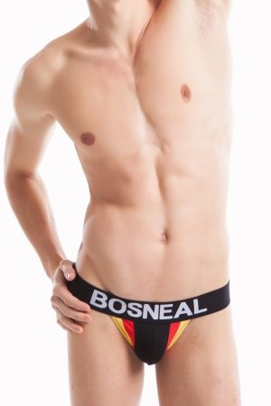 Jock Strap BOSNEAL Black Fit