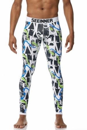 Long Johns SEEINNER Psycho Green