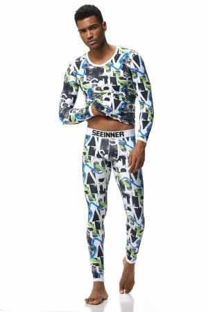 Men`s thermal set SEEINNER Psycho Green