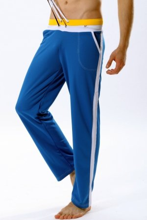 WJ 404 Long Training Pants (Blue)