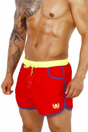 Supa! Swim! Guard Trunks (Red)