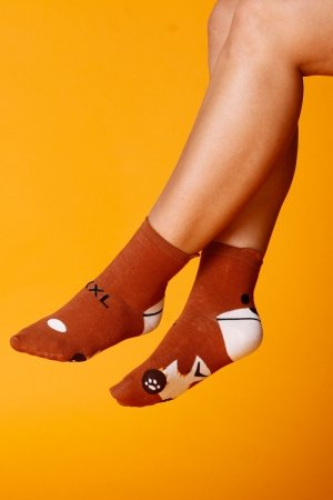 Supa! Sox! Brown Bear ladies socks (JP6158)