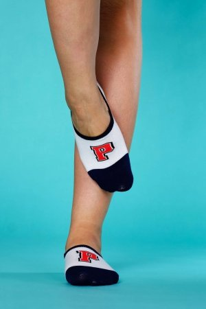 Supa! Sox! Navy P ladies socks