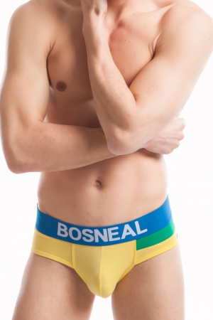 BOSNEAL Green Fit briefs