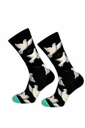 Skarpety Supa! Sox! Black Piegeon (AM0059)