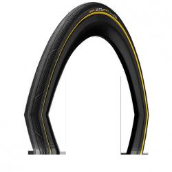 Opona Continental Ultra Sport PF 700x25C czarno/żółta zwijana
