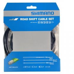 Zestaw szosowy linek przerzutki Shimano OPTISLICK OT-SP41 czarny