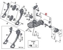 Mechanizm stabilizujący Shimano RD-M9050