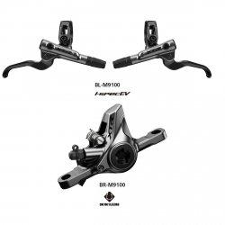 Hamulec Shimano XTR M9100 1000mm metal bez/radiatora
