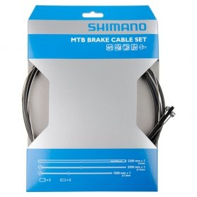Linka MTB hamulca Shimano przód 800x900mm z pancerzem
