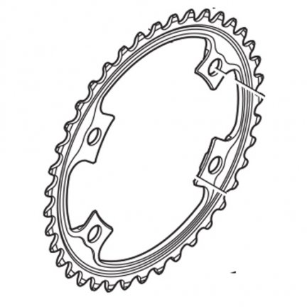Tarcza mechanizmu korbowego Shimano Dura Ace FC-9000 39T-MD (do 53–39T)