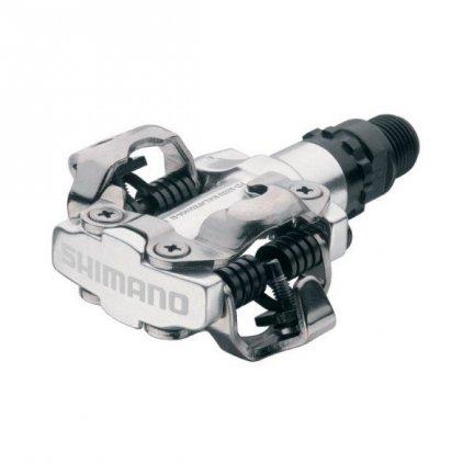 Pedały Shimano SPD PD-M520 srebrne