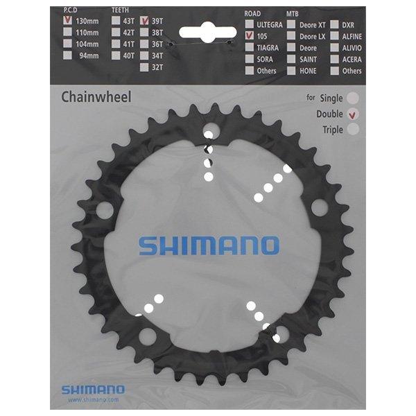Tarcza mechanizmu korbowego Shimano 105 FC-5700 39T (czarna)