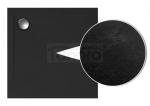 POLIMAT - Brodzik posadzkowy GEOS 100x100x1,5x4,5 struktura kamienia czarny (00395)