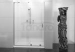 REA - Drzwi prysznicowe przesuwne CEZAR powłoka 120cm Easy Clean