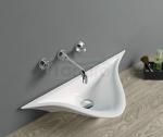 REA - Umywalka wisząca ceramiczna CHLOE Slim Edge Collection