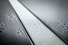BWTECH - Odpływ liniowy szklany NEMO Szkło Białe