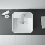ELITA Umywalka ceramiczna nablatowa TONIA 39x13.5x39 145081