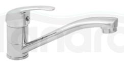 INVENA - Bateria umywalkowa  umywalkowa z obrotową wylewką MITRIS BU-79-K01-Q
