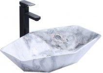 REA - Umywalka nablatowa VEGAS Granit Mat