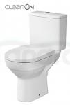 CERSANIT - WC Kompakt CITY z Deską antybakteryjną, duroplastową, wolnoopadającą z funkcją łatwego wypinania K35-035