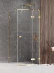 NEW TRENDY Kabina prysznicowa AVEXA GOLD SHINE Linia Platinium 80x70x200