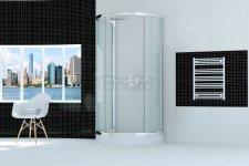 SEA HORSE Kabina prysznicowa przyścienna STYLIO 80x100X190 BK501XT+