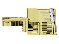 VEDO -  Bateria wannowa 3-otworowa DESSO ORO złoto  VBD4030/ZL
