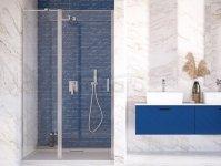 BESCO Drzwi wnękowe prysznicowe uchylne EXO-C 110cm EC-110-190C