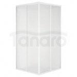 Aquaform - Kabina prysznicowa RAFT szkło mrożone Water 90x90