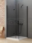 NEW TRENDY Kabina prysznicowa składana NEW SOLEO BLACK 70x80x195