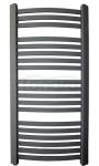 GAMABIK - Grzejnik łazienkowy KUMIKO 750/440 ANTRACYT moc 291W