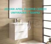 ELITA - Zestaw APRIL szafka + umywalka 70 cm
