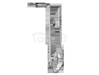 FROMAC - Zestaw natryskowy z baterią termostatyczną SLIM i wylewką kaskadową  chrom 15863