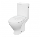 CERSANIT - WC Kompakt MODUO z Deską SLIM WRAP antybakteryjną, duroplastową, wolnoopadającą K116-024