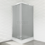 DUSO - Kabina kwadratowa 80x185  DS401QC