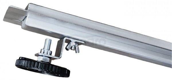 BW-TECH Odpływ liniowy podłogowy SLIM kwadrat chrom Obrotowy syfon – 360o Stal nierdzewna (AISI 304) ROZMIARY 50-120cm