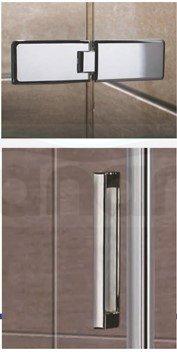 WANA - Drzwi prysznicowe składane PILOS 80x185