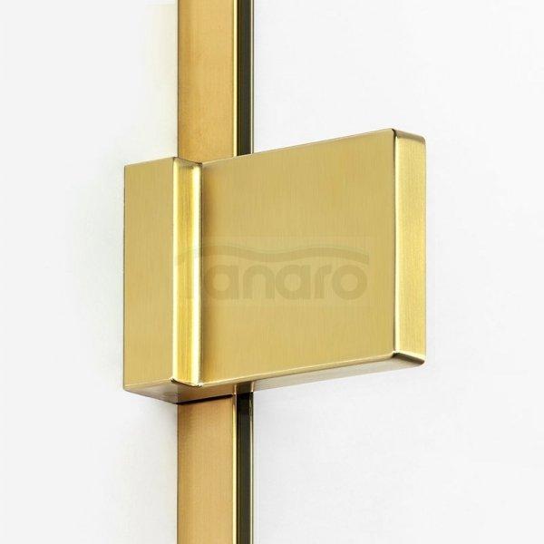 NEW TRENDY Parawan nawannowy AVEXA GOLD 2-elementowy Rozmiary 100-140cm