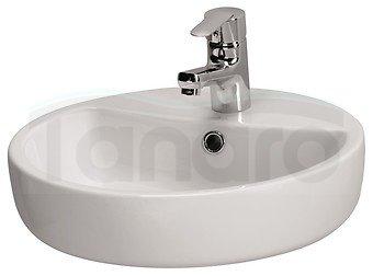 CERSANIT - umywalka nablatowa CASPIA RING 44  K11-0094