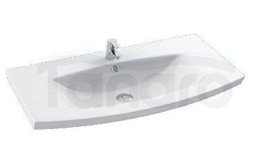 CeraStyle - Umywalka meblowa / ścienna PLUS ceramiczna