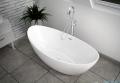 The North Bath Frigg wanna wolnostojąca 180x87cm + Syfon Klik-klak wizualizacja wanna stojąca
