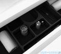 New Trendy Kubiko szafka wisząca podumywalkowa 75 cm biały połysk ML-9075