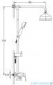 Omnires Art Deco system prysznicowy miedź antyczna AD5144ORB