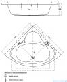 Cersanit Venus wanna symetryczna 150x150 S301-013