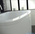 Besco Luna 150x80cm wanna asymetryczna prawa + obudowa + syfon aranżacja