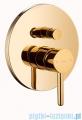 Omnires Y zestaw podtynkowy wannowy złoty SYSYW01GL