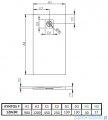 Radaway Kyntos F brodzik 120x90cm antracyt HKF12090-64
