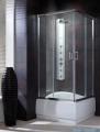 Radaway Premium Plus C Kabina kwadratowa 90x90x170 szkło brąz